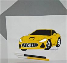 Painting  by Kovuru Vineeth Kumar - Maserati