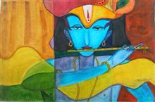 Untitled - 2, painting by Dhanashree Adapawar