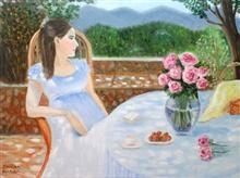 Tranquility, painting by Shikha Narula
