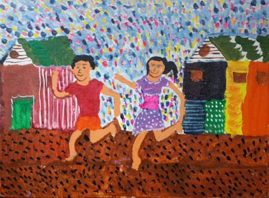 Painting  by Anushka Swapnil Parulekar - Play time