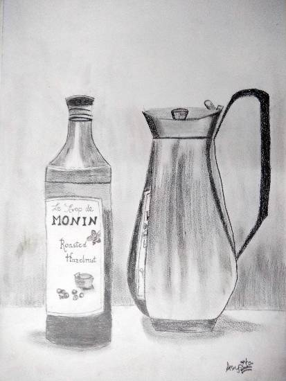 Painting  by Arpita Bhat - Still life sketching