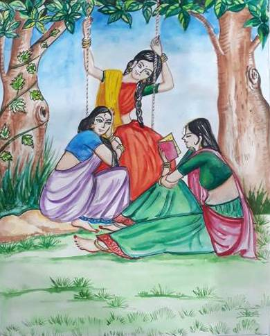 Painting  by Isha Purohit - Frinds