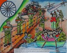 Painting  by Isha Purohit - Indian Army
