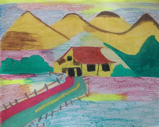 Painting  by Ishita Mayur Patil - Summer