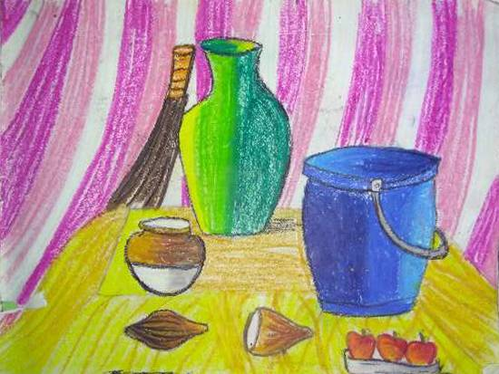 Painting  by Manya Manish Mehta - Still Life