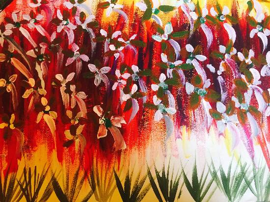 Painting  by Suhani Bhattacharyya - Flowers