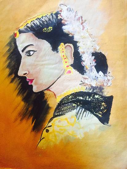 Painting  by Suhani Bhattacharyya - Woman