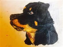 Painting  by Suhani Bhattacharyya - Dog