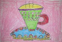 Painting  by Vedant Ashish Deodhar - Tea Time