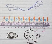 Painting  by Tithi Mukhopadhyay - Doodle of Kitten