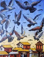 Birds - In stock painting