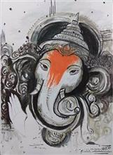 Ganesha - In stock painting