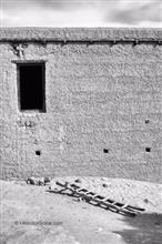 Window and Ladder, Shey, Photo by Hitendra Sinkar