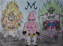 Painting  by Gaurav Sunil Khare - Dragon Ball Z Buu Saga