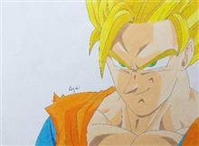 Painting  by Aryaa Anand Awade - Dragon Ball Z Buu Saga - 1