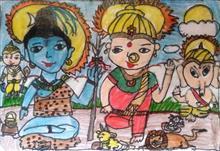 Khula Aasmaan theme - Gods-Goddesses