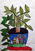 Painting  by Harshvardhan Kumar - Plant