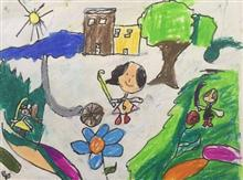 Painting  by Aashvi Ashutosh Karle - Children