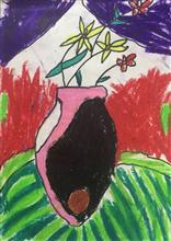 Painting  by Aashvi Ashutosh Karle - Flower pot