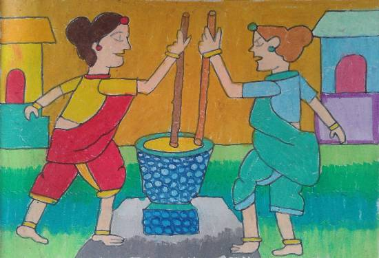 Painting  by Aayushi Amol Shirodkar - Women