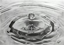 Water Droplet, Painting by Pankti Jain