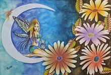 Fantasy Art, Painting by Pankti Jain