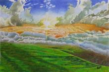 Heaven, Painting by Artist Pankti Jain
