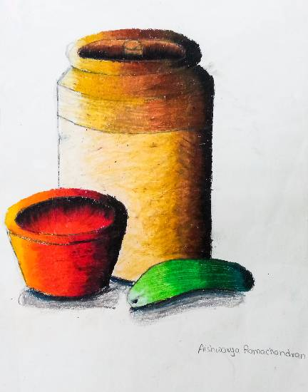painting by Aishwarya Ramachandran - Still life