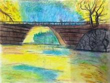 Painting  by Anaya Bhola - Bridge