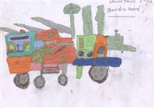 Painting  by Dhaval Mawal - Tractor