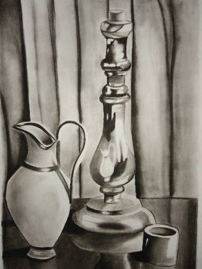 Painting  by Manas Chawla - Still Life