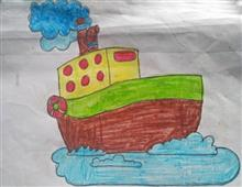 Painting  by Mahi Jadhav - Boat
