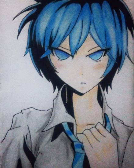 painting by Pranav Tyagi - Azuma tokaku from Akuma no riddle
