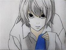 Painting  by Pranav Tyagi - Near from death note