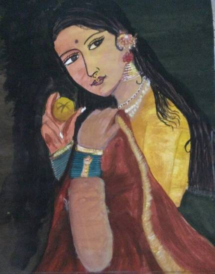 Painting  by Prerna Jain - Woman