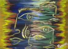 Khula Aasmaan theme - Semi Abstract