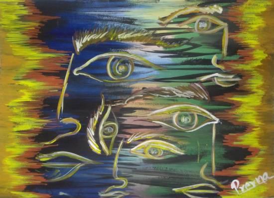 Khula Aasmaan - Semi Abstract