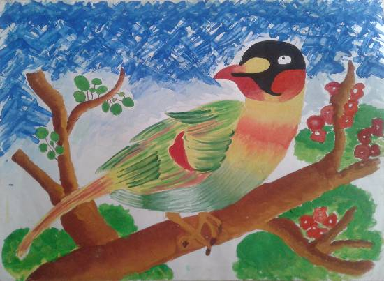 Painting  by Radhika Sunil Argade - Bird