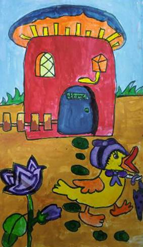Painting  by Sejal Vishnu Khandelwal - Bird House
