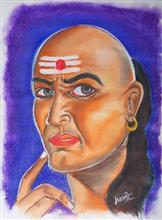 Painting  by Manali Bagade - Chanakya
