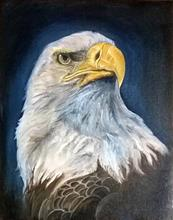 Painting  by Manali Bagade - The Eagle