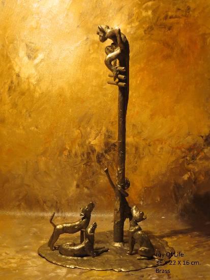 Joy of Life XVII, Sculpture by Mukund Ketkar