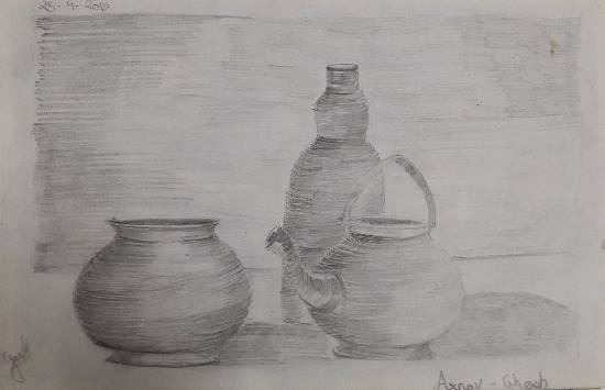 Painting  by Arnav Dulal Ghosh - Still Life