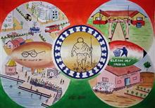 Khula Aasmaan theme - Swachh Bharat