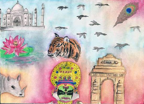 Painting  by Gitanjali Subhash Paul - India