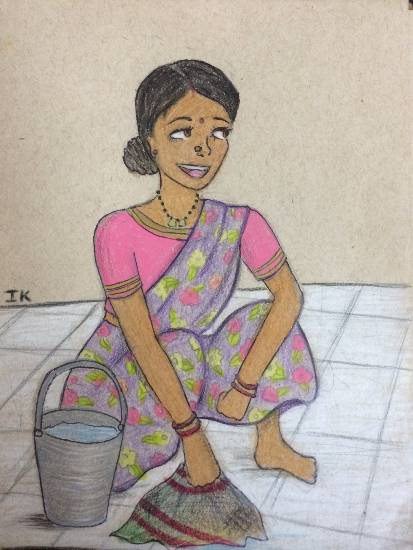 Painting  by Isha Khanzode - India Trip 2014