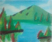 Painting  by Kanak Agrawal - Mountain