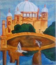 Painting  by Kanak Agrawal - Monument