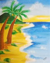 Painting  by Kanak Agrawal - Beach