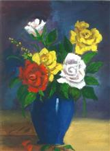 Painting  by Kalash Durgesh Desai - Flower pot
